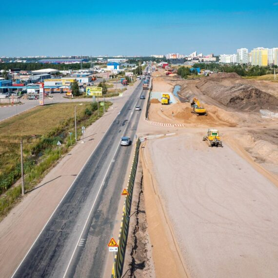 Реконструкция Колтушского шоссе
